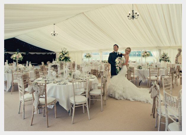 Wedding Table Flowers and Venue Decoration